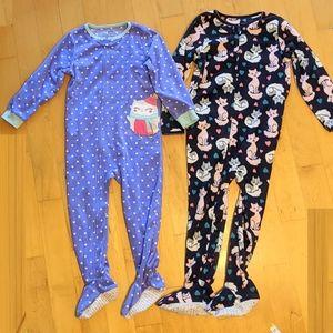 Carter's fleece pajamas PJ size 4 - 5 yo
